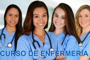 CURSO DE ENFERMERIA MENU