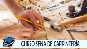 ▷ Curso de Carpintería SENA
