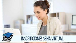 Inscripción virtual SENA Tecnologos Especializaciones